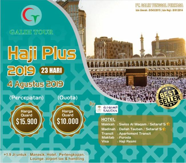 Paket Haji ONH Plus 2019 Berangkat Pasti Tanpa Antri