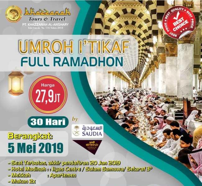 Paket Umroh Ramadhan 2019 Menjawab Panggilan Suci