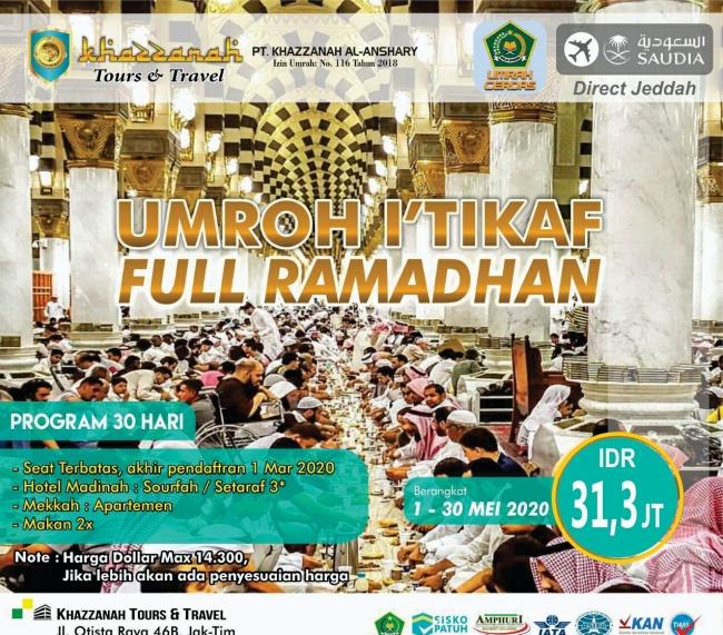 Paket Umroh Ramadhan 2020 Menjawab Panggilan Suci
